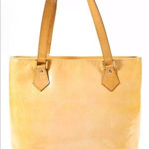 Louis Vuitton Vernis Leather Houston Tote Handbag